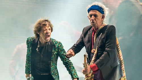 The Rolling Stones - Made their Glastonbury debut on Saturday night
