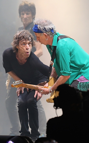 Glastonbury organiser Michael Eavis said the Rolling Stones' Saturday night headline set was the best in the festival's 43-year history