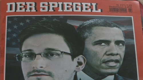 Latest revelations in German media from Edward Snowden files include US phone-tapping of Chancellor Merkel's private mobile