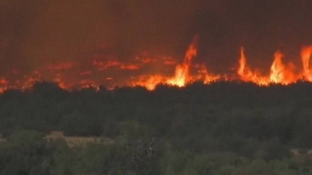 The blaze erupted on Friday near the small town of Yarnell