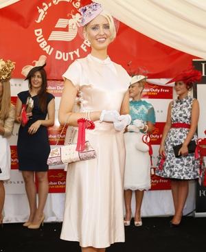 Deborah Barrett is crowned the Dubai Duty Free Most Stylish Lady