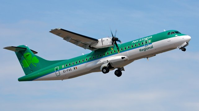 Aer Lingus Regional carried a total of 82,316 passengers last month