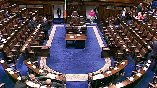 First Dail vote on abortion due