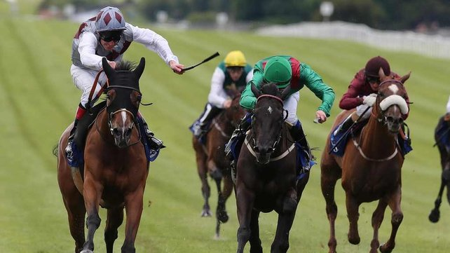 Ambivalent took the Pretty Polly Stakes