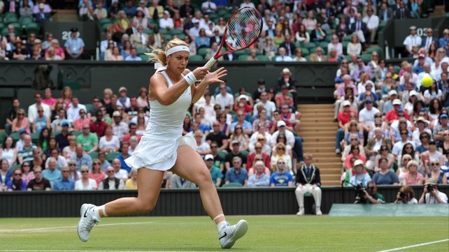 Sabine Lisicki has ended Serena Williams' Wimbledon title defence