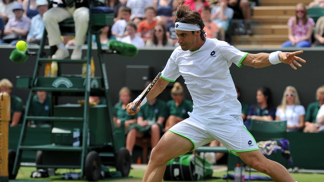 David Ferrer has made the last eight at Wimbledon
