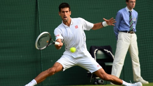 Novak Djokovic has reached the quarter-finals