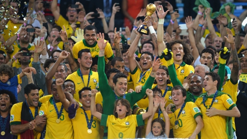Brazil will be looking to add the World Cup to their 2013 Confederation Cup success