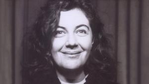 Nuala O'Faolain on a Bicycle on Brooklyn Bridge, a poem by Dermot Bolger