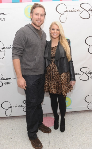 Jessica Simpson and her fiancé Eric Johnson welcomed a baby boy