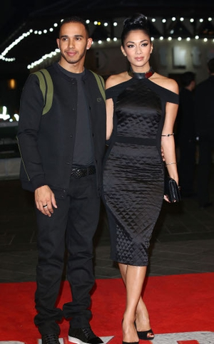 Nicole Scherzinger and her Formula One ace beau Lewis Hamilton parted ways after five years together