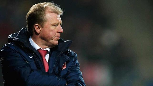 Steve McClaren will work under Harry Redknapp