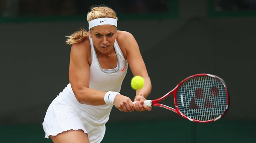 Sabine Lisicki is into the women's singles semi-finals at Wimbledon