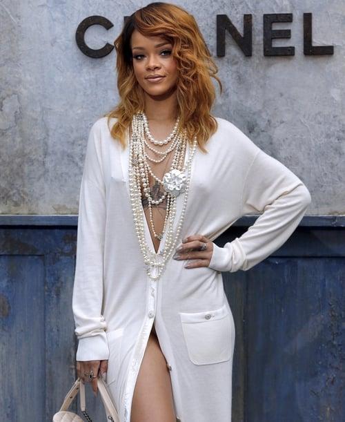 Rihanna at Chanel