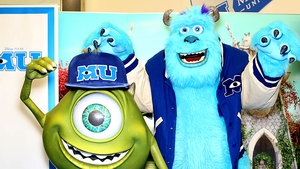 Mike and Sully on their visit to Dublin