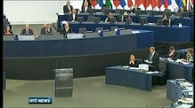 Taoiseach addresses MEPs on Ireland's EU Presidency