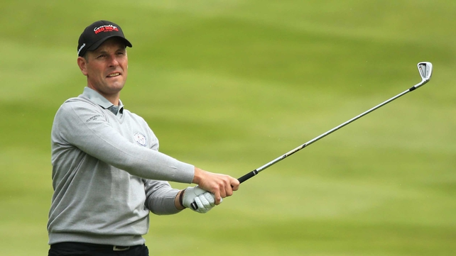 David Higgins lost a play-off because he had too many clubs in his bag