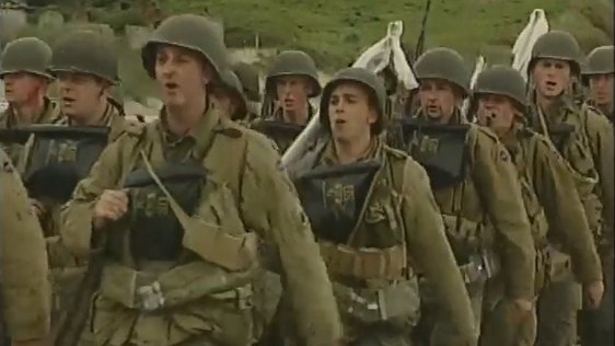 'Saving Private Ryan' at Curracloe Beach, Co. Wexford (1997)