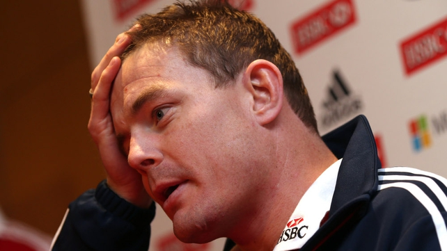 Brian O'Driscoll was left out of the matchday squad
