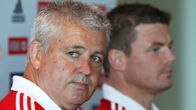 Warren Gatland and Brian O'Driscoll