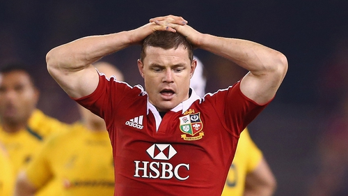 Brian O'Driscoll's Lions career is over
