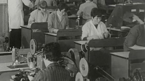 Workers in Sewing Factory, 1968