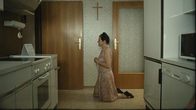 Maria Hofstätter plays an intensely devout Catholic, Anna Maria, in Paradise: Faith