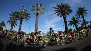 Stage four of the Tour de France was a 25km Team Time Trial in Nice