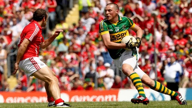 Kieran Donaghy is on the bench for the Munster final