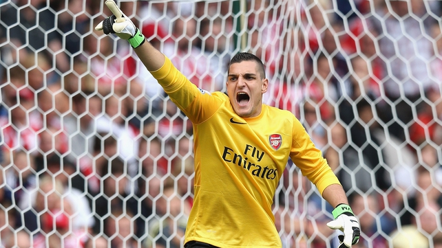 Vito Mannone has joined Sunderland
