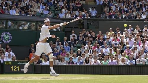 Juan Martin del Potro had to recover from an early slip to beat David Ferrer