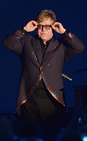 Elton John has revealed the secrets of his rehab diaries for his upcoming biopic