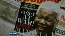 South African police enforce Mandela grave court order
