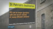 Young prisoners in St Patrick's cannot be guaranteed safety
