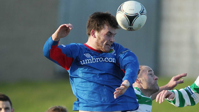 Philip Lowry was on the mark for Linfield