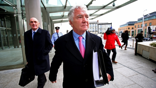 The former Anglo executives, including Sean Fitzpatrick are facing criminal charges