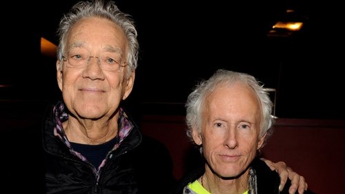 Ray Manzarek and Robbie Krieger photographed in recent years