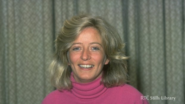 Emily O'Reilly, at AT Cross Awards for 'Woman Journalist of the Year' in 1986.