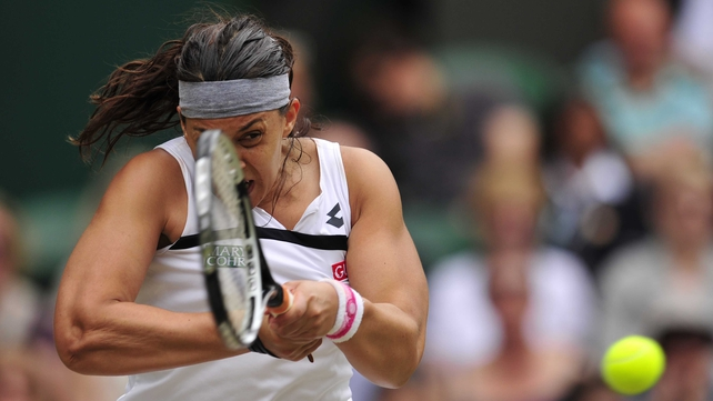 Marion Bartoli has advanced to the final without dropping a set