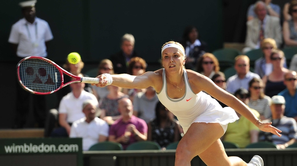 Sabine Lisicki became the first German to reach the women's singles final at Wimbledon since Steffi Graf in 1999