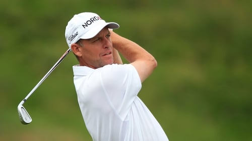 Anders Hansen leads the way at the Alstom Open de France