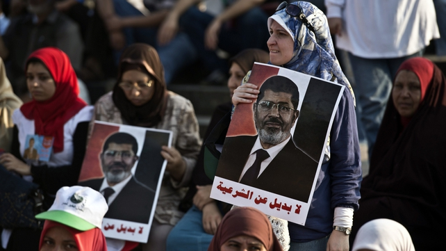 Supporters of Mohammed Mursi have rejected the planned interim government