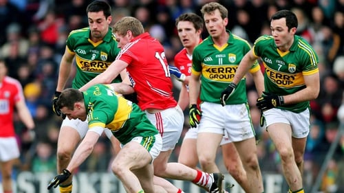Cork edged past Kerry by four points to win the McGrath Cup
