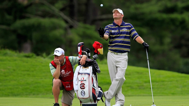 Tommy Gainey (pictured) and Johnson Wagner both shot impressive 62s
