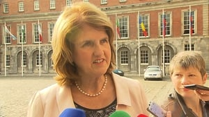 Minister for Social Protection Joan Burton said that she will continue to try to protect core payments