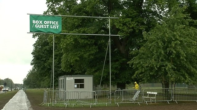 The Swedish House Mafia concert took place in the Phoenix Park
