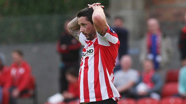 Rory Patterson's missed chances were to haunt Derry