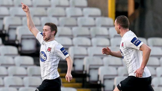 Tiernan Mulvenna's late goal gave Dundalk all three points