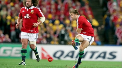 Leigh Halfpenny is among the nominees for the International Rugby Players' Association Players' Player of the Year award
