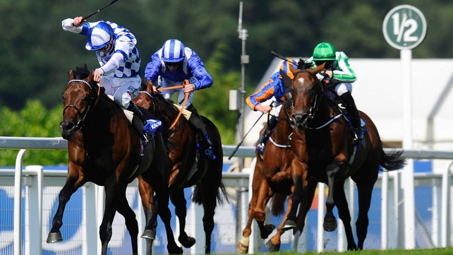 Al Kazeem is disputing favouritism for the Prix de l'Arc de Triomphe